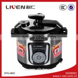 Liven 6L Electric Pressure Cooker DNG-6002