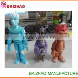 whosale new design cheap plastic mini figurines / cartoon doll toy/making vinyl toy figure
