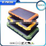 Eco-friendly Portable universal solar charger, solar power bank for laptop/notebook/tablet