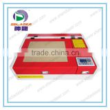 SD-4040 Advertising industry Wood MDF Marble Stone Plastic Acrylic Paper Rubber laser engraver