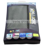 promotional microfibre suede beach towel