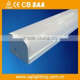 TUV-CE,SAA plastic ceiling light cover indoor wall mount led fixture linear lamp fitting
