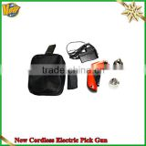 Hot sale New Cordless Electric Pick Gun,multi pick tool,rechargeable electric pick ,LOCKSMITH TOOLS