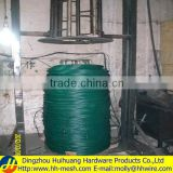 pvc coated galvanized steel wire (Manufacturer & Exporter)-Huihuang factory -BLACK,GREEN ,WHITE...