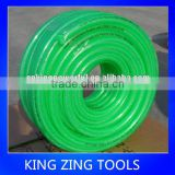 Flexible rubber welding and colour hose pvc flexible fiber reinforced hose with green color