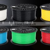 shenzhen plastic spool rod 1.75mm abs pla 3d pen filament 3mm 3D printer filament 3D printing machine material for kids diy