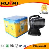 New 50w led work light Powerful Cre e LED Hunting Searchlights ip67 remote control with cure package