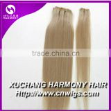 Stock 120g remy clip in hair extension/ponytail clip in remy human hair extensions/30g remy hair extensions clip