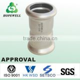 Approval stainless steel press fitting elbow with competitive price