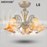 Flush Mount County Chandelier Glass Chandelier China Hospitality Home Furniture MD2184 L5