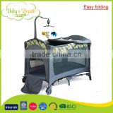 BP-01B outdoor travel cot easy folding softtextile plastic bracket baby playpen bed                                                                         Quality Choice