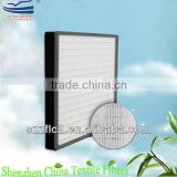 H12 H13 H14 Fiberglass pleated paper HEPA air filter