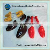 hollow plastic adjustable shoe trees/bright-colored shoe tree/tree climbing shoes/shoetree
