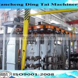 Q38 good quality hook type shot blasting machine/hanger pass through shot blasting machine