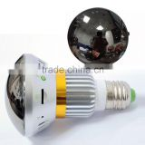 "DIHAO 2.4G Wireless Bulb CCTV Security AV Camera Set 600 TVL PAL 1/3"" COMS 4 Channels Invisible 36 IR LEDs Night Vision"