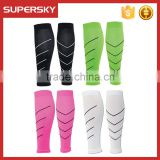 2015 Sports Endurance Support Graduated Shin Splints Calf Compression Sleeves/Men's Running Leg Sleeve Socks