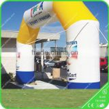 Custom inflatable arch with logo for advertising