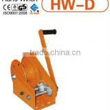 hand winch with brake