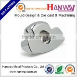 aluminium die casting office accessories, aluminum die casting furniture part, cast office chair base parts, casting parts,
