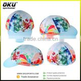 OKUsports Accept sample order custom cycling cap, coolmax&cotton cycling hat bike cap with very good price                                                                         Quality Choice