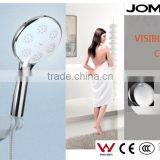 JOMOO LED air engry hand shower head Three-function hand shower, simple ,rain shower ,LED display,with hose