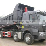SINOTRUK HOWO A7 Chassis 8x4 Dump Truck , Euro 2,3,4 emission standard