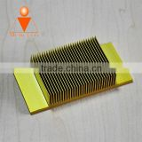 Aluminium alloy 6061-T6 LED downlight heat sinks/heatsinks, aluminum hollow heat sink/heatsinks with factory price
