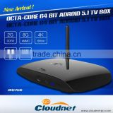 Rockchip RK3368 Octa Core Android 5.1Smart TV BOX 64 bit A-53Cortex WIFI BT 4.0 XBMC/Kodi Player 2G RAM /8G OR 16G ROM