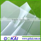 Hot sale no waves pvc rigid transparent board/sheet/panel