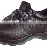 Steel toe/ sole PU injection safety shoes