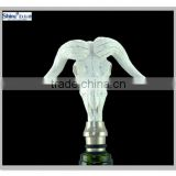 custom stainless steel white deer head bottle wine stopper for home decoration alibaba china