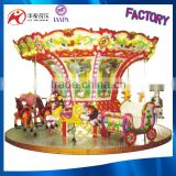 Amusement rides equipment 12 seats carousel horse carousel kids carousel for sale