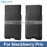 Newest Leather Pocket Bag For BlackBerry Priv Mobile Phone Leather Pocket for BlackBerry Priv Leather Pocket Case