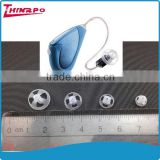 Hearing aid accessories transprent hearing aid silicone ear tips different sizes