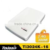 New Todaair outdoor 2.4G 300M wireless router engineering wireless access point wide long distance bridge