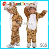 Plush Tiger Shape High quality animal baby costume