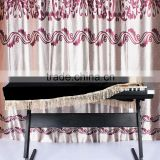61-key Electronic Piano Keyboard Cover Pleuche Decorated with Fringes Beautiful