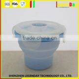 China Supplier 100% Food Grade Silicone magnetic water cup