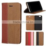wood flip wallet cell mobile smart phone case cover for Blu vivo studio air life pure xl 5.5 6.0 7.0 8