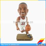 Cheap sports figurine custom basketball bobblehead for collection
