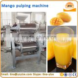 Stainless steel mango pulper ,mango juice extractor machine / tropical fruit pulping machine