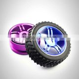 1/8 aluminum alloy baby buggy wheels