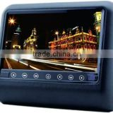 9 inch car back seat lcd headrest dvd player with wireless game car monitor