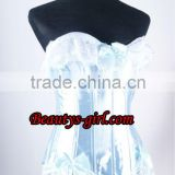 Hotsale Fashion Woman Sexy Lovely Blue Princess Corset For Party