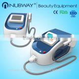 High quality imported accessories !!! portable diode laser hair removal machine NBW-L121