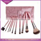 Custom logo makeup brushes, private label shaving brush, makeup brush with plastic cover