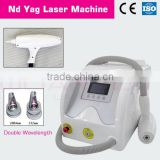 Portable ND YAG Laser Tattoo Removal Machine, freckle Clear Skin rejuvenation Equipment manufacturers & exporter