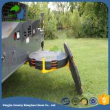 Black crane mat crane foot bearing support, custom-made hdpe outrigger pads