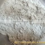 Wet Ground Mica Powder 200mesh 325mesh 600mesh 800mesh 1250mesh 2500mesh used for Paint rubber plastics cosmetics
