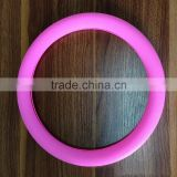 Xianjian Factory Summer Rubber Candy colour Hyper-Flex Core Steering Wheel Cover Eco-friendly Silicon Universal (rose)